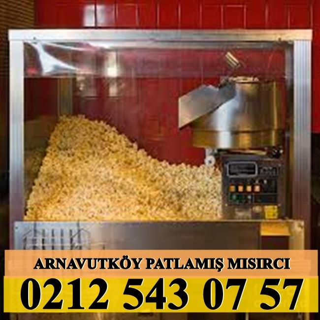 Arnavutköy patlamış mısırcı